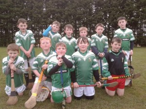 Under 10 Hurlers Cappagh April 2014