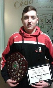 Adam Kelly Flood Under 16 Player of the Year 2014